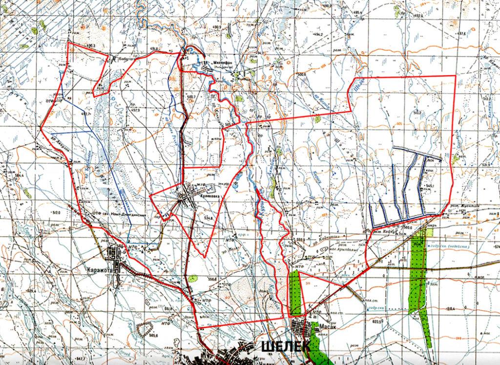 Карта проезда - Охотничье хозяйство Шелек