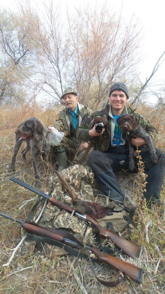 Охота с собаками в Алматинской области