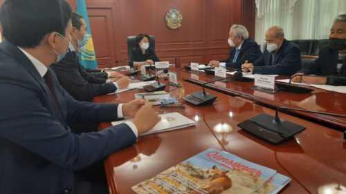 Развитие национальных пород тазы и тобет обсудили в Министерстве культуры и спорта